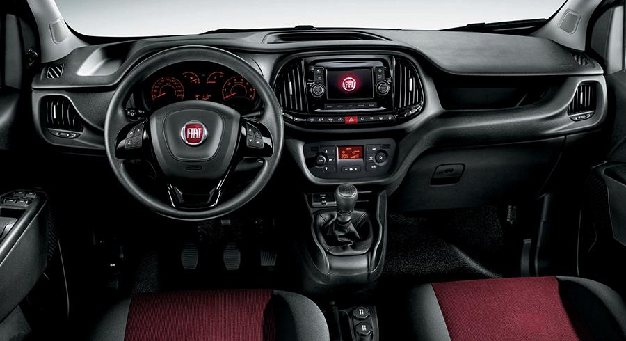 Fiat Doblo Cargo 2019 - центральная консоль
