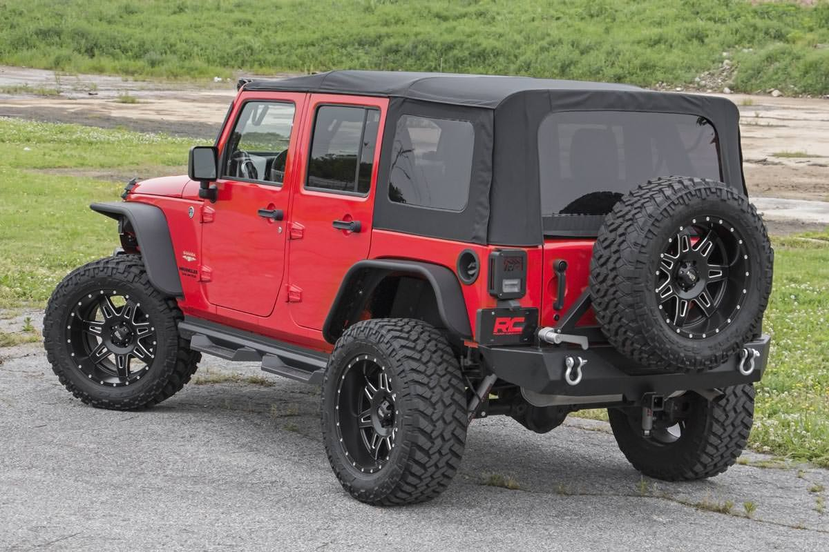 крыша Soft Jeep Wrangler