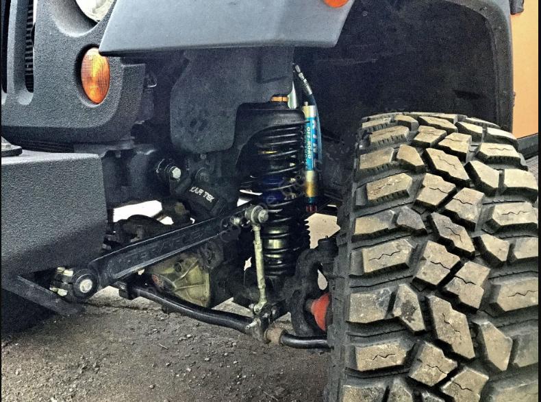 подвеска Jeep Wrangler