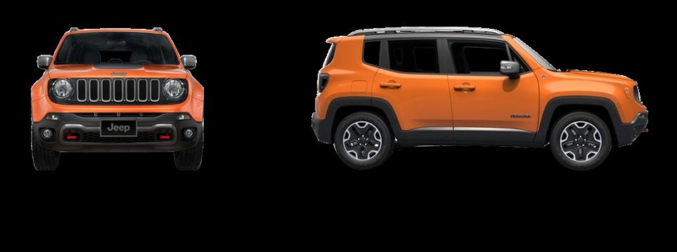 Размеры (габариты) Jeep Renegade
