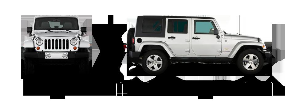 размеры Jeep Wrangler