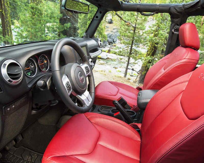 сиденья Jeep Wrangler