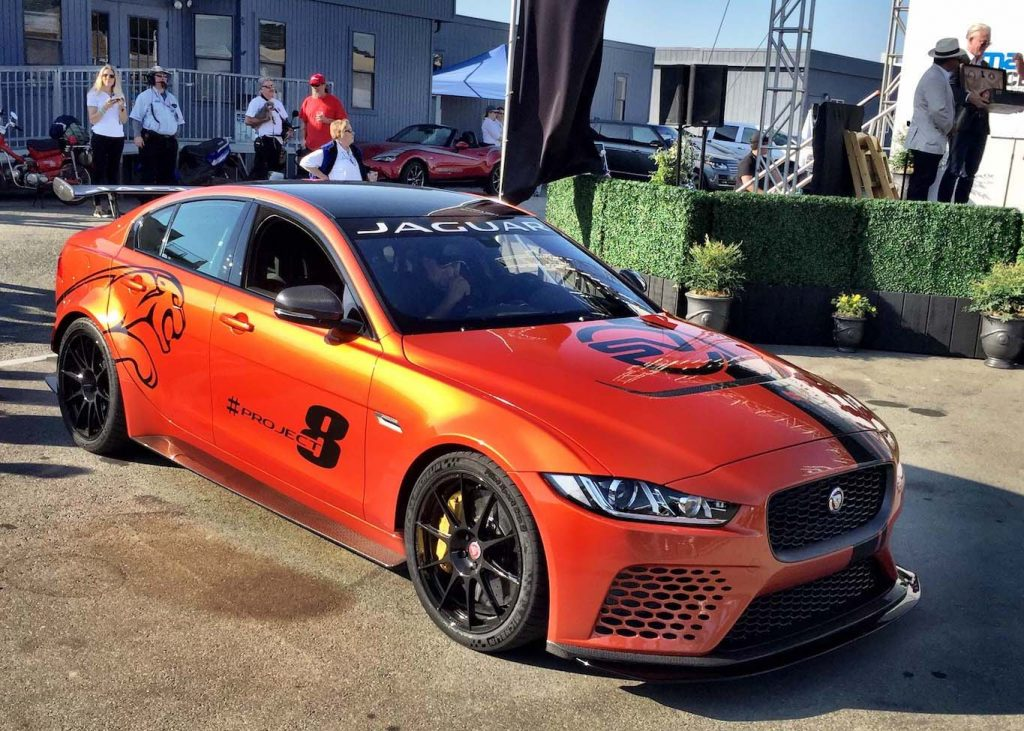 Jaguar XE SV Project 8.