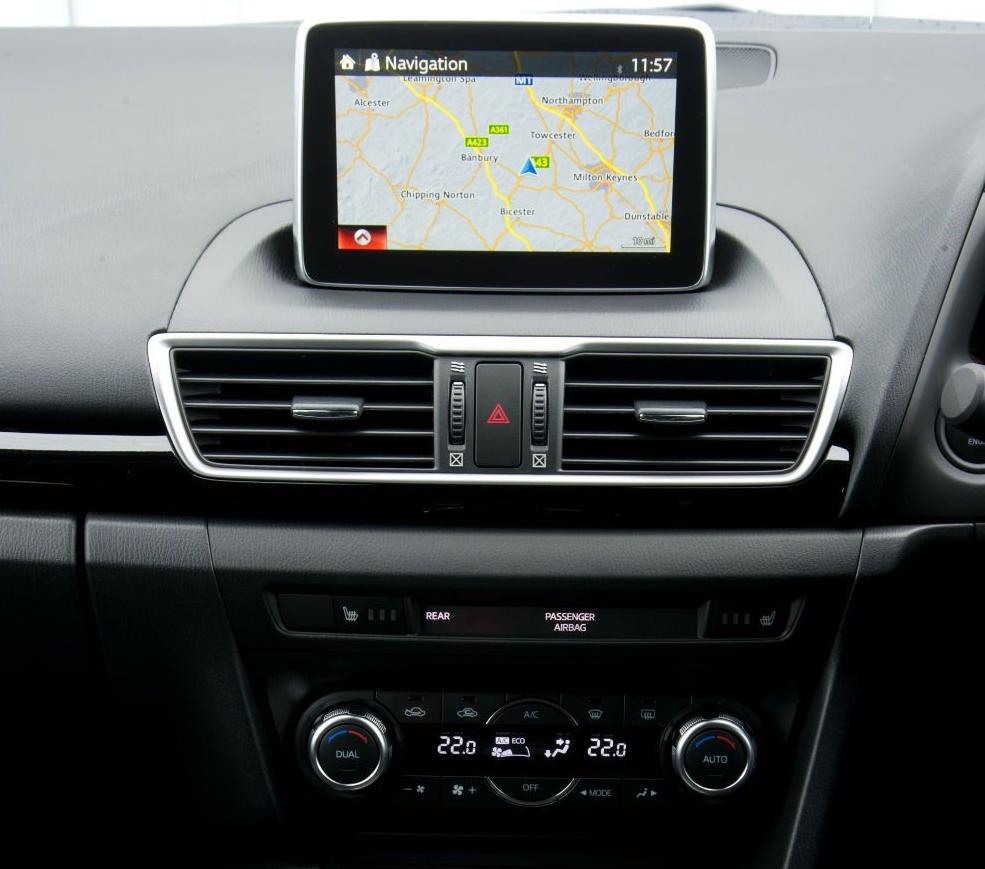 Mazda CX 5 2018 навигатор
