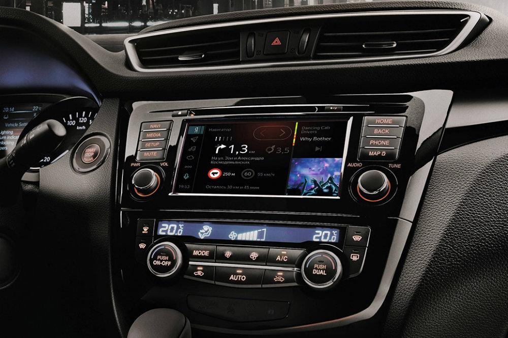 Nissan мультимедиа