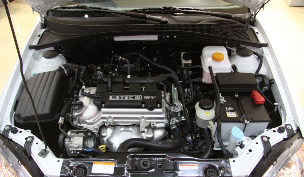 Ravon Gentra двигатель