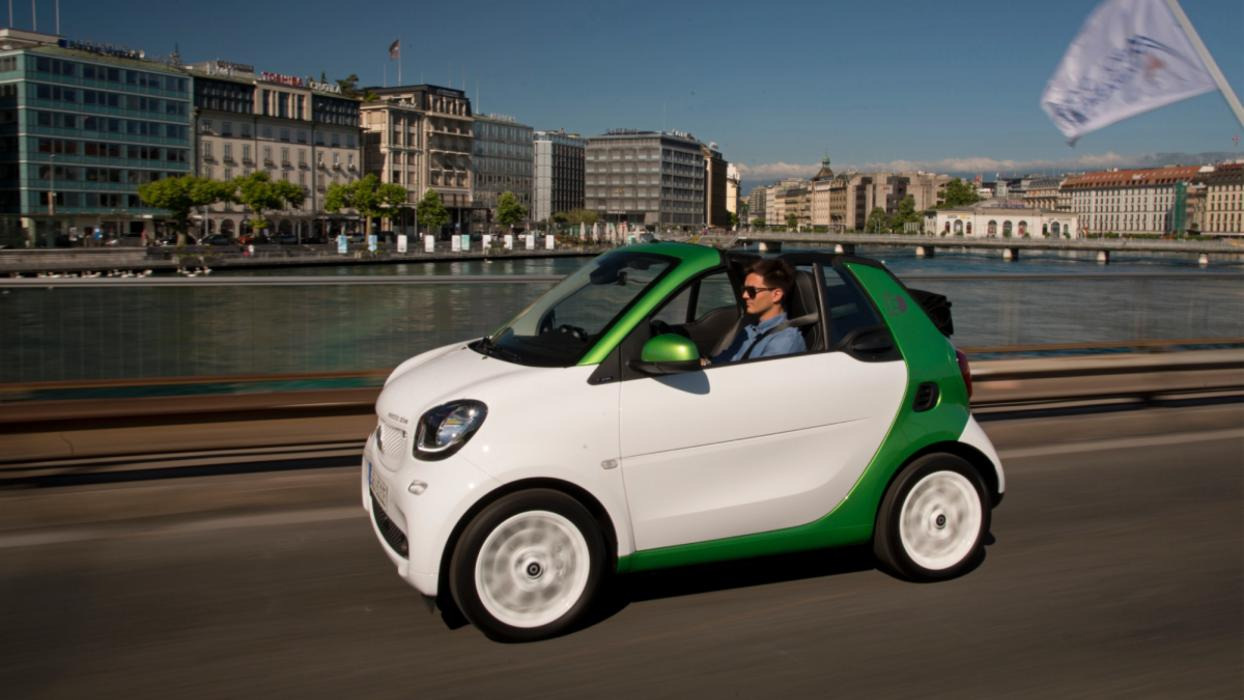 Smart Fortwo Electric.