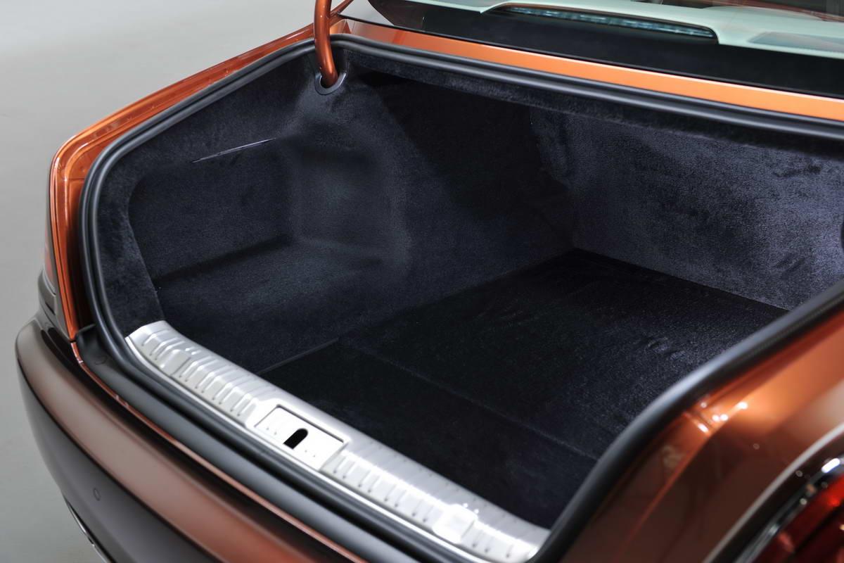 багажник rolls royce