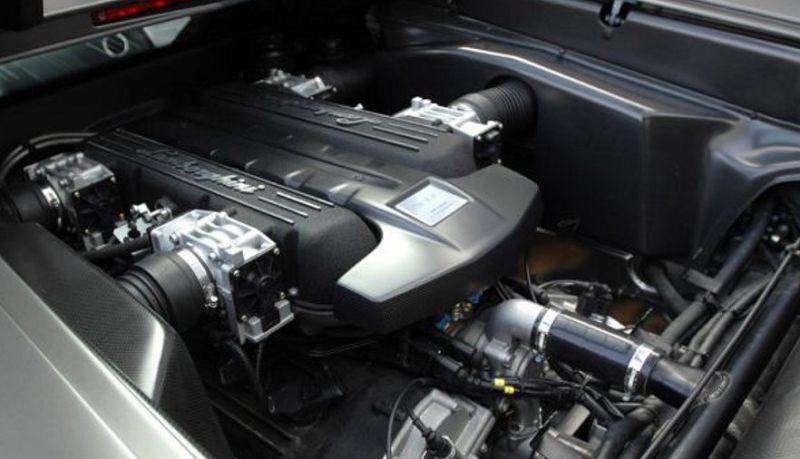 двигатель Lamborghini Urus