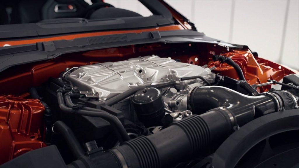 двигатель jaguar xe sv project