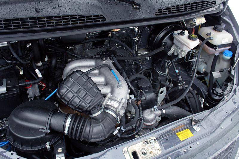 газ соболь .двигатель