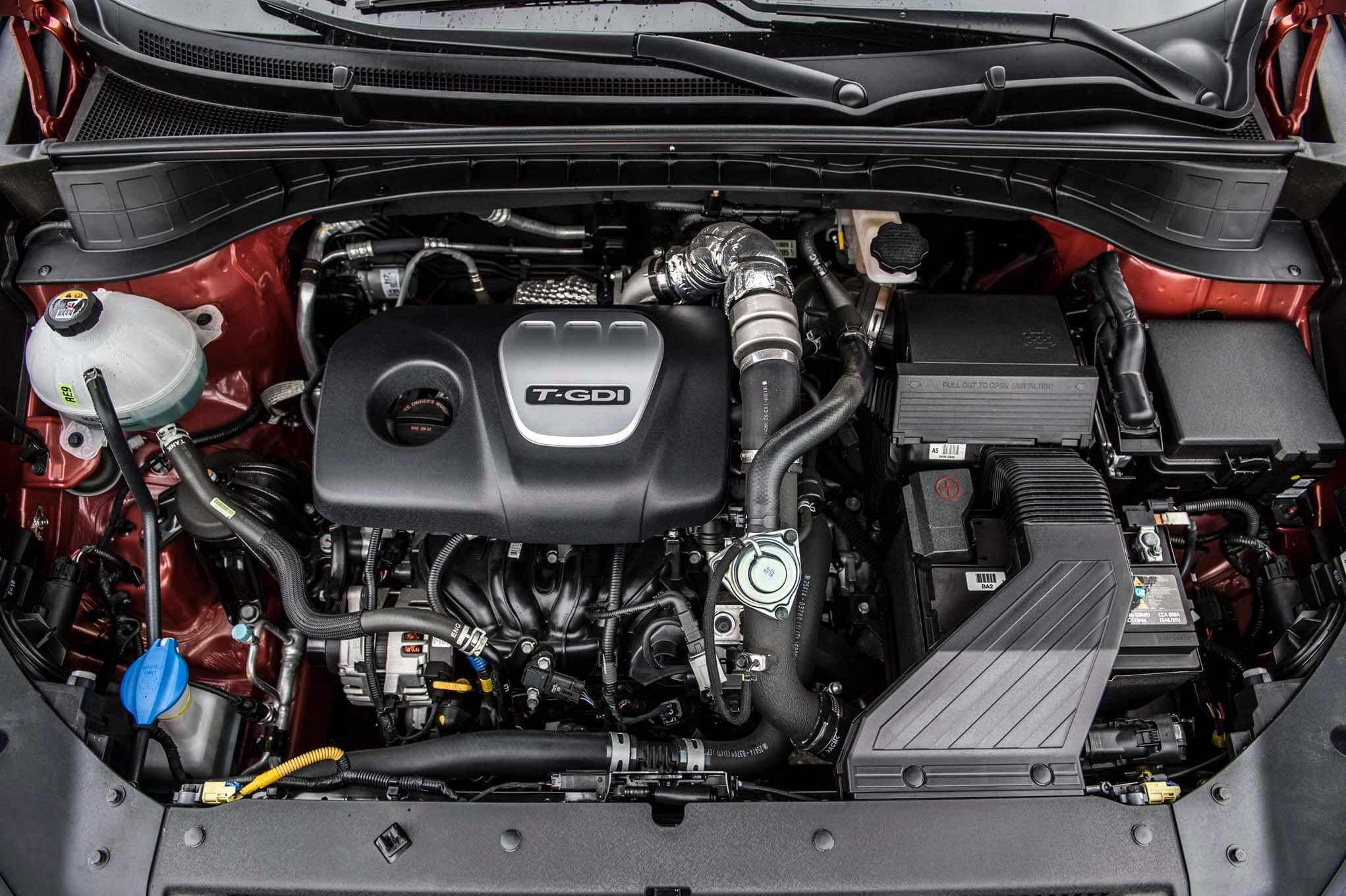 hyundai tucson двигатель