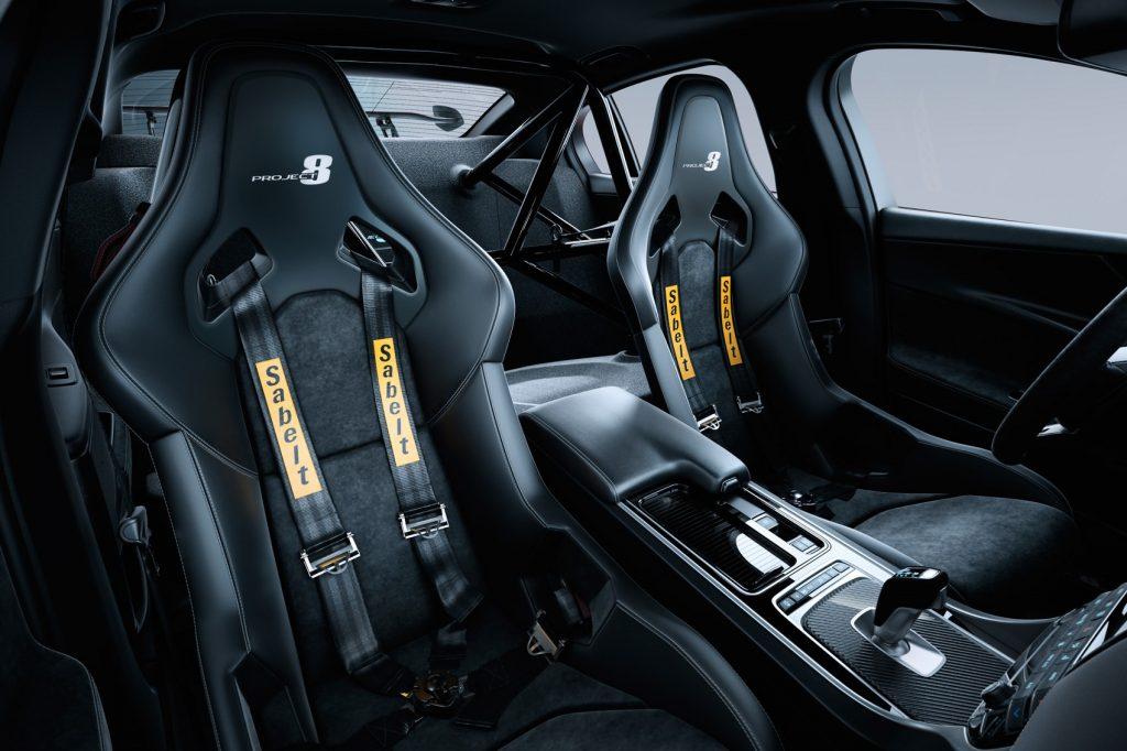 jaguar xe sv project 8 салон