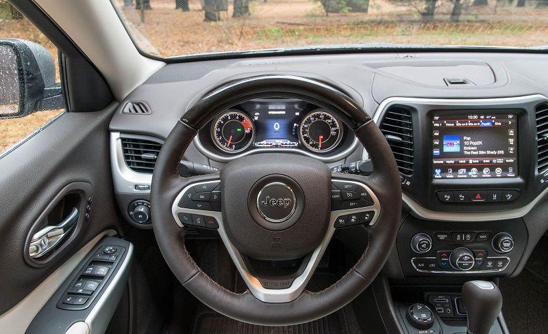 jeep cherokee управление