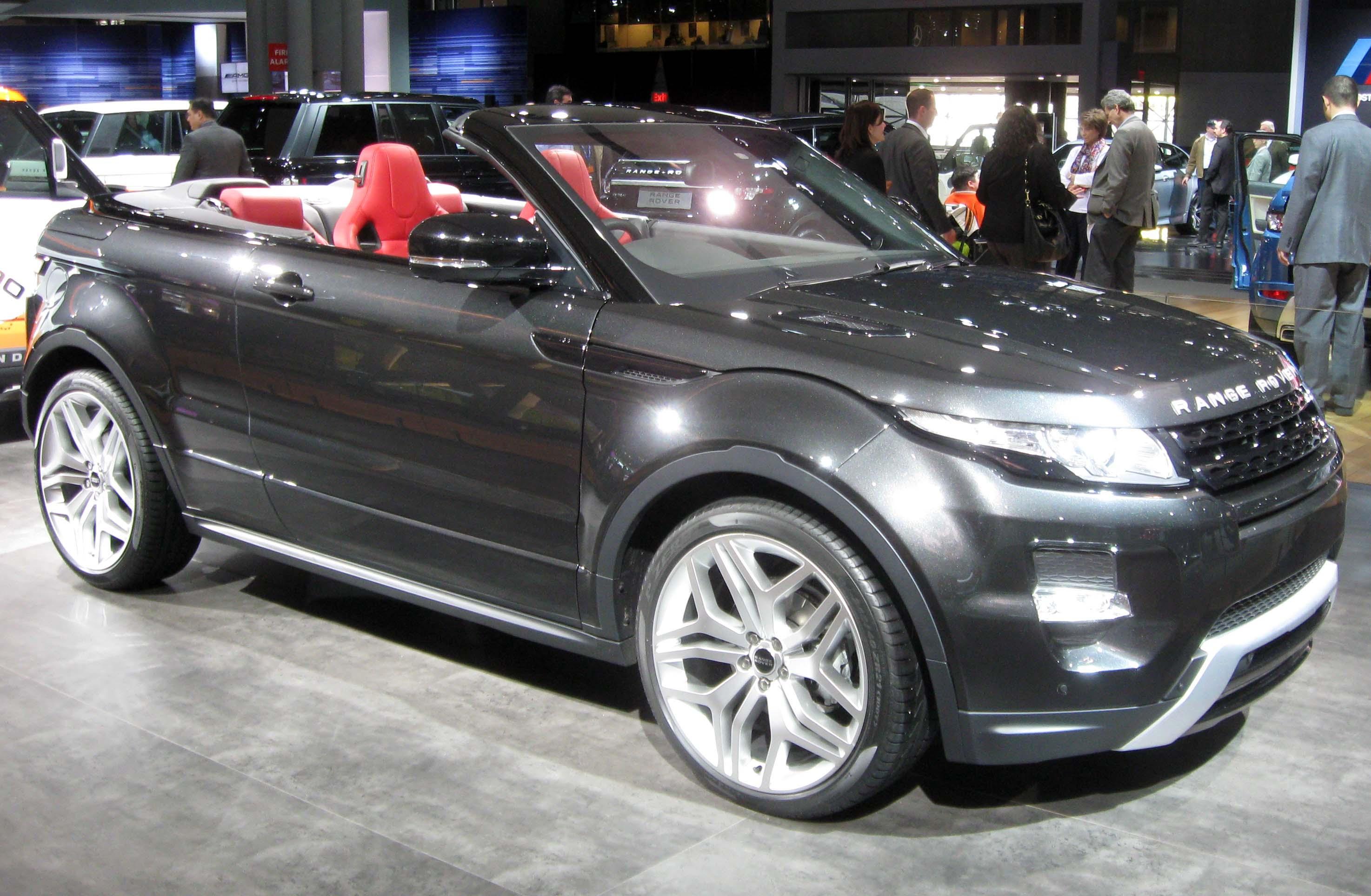 range rover evoque кабриолет