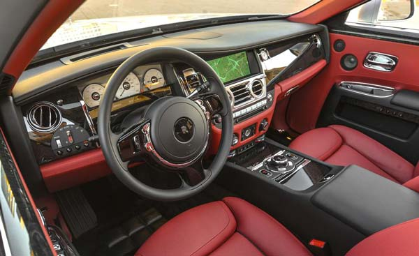 rolls royce ghost red interior