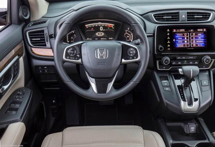 руль Honda CR V