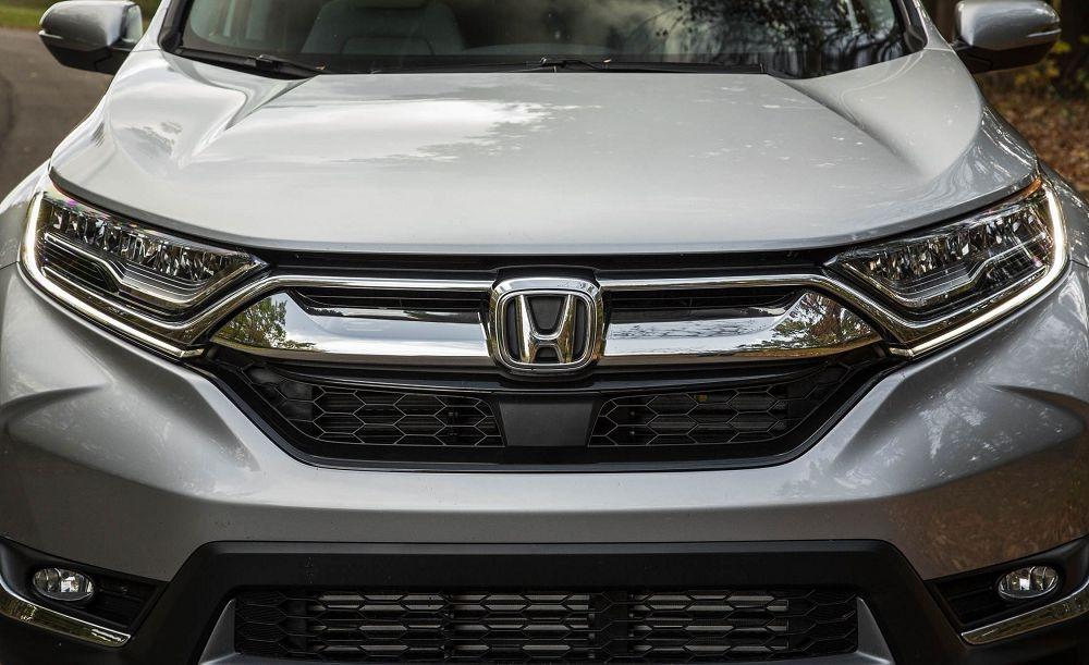 вид спереди Honda CR V