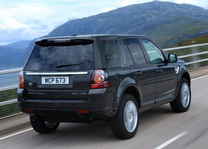 Land Rover Freelander сзади