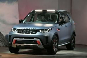land rover discovery спереди