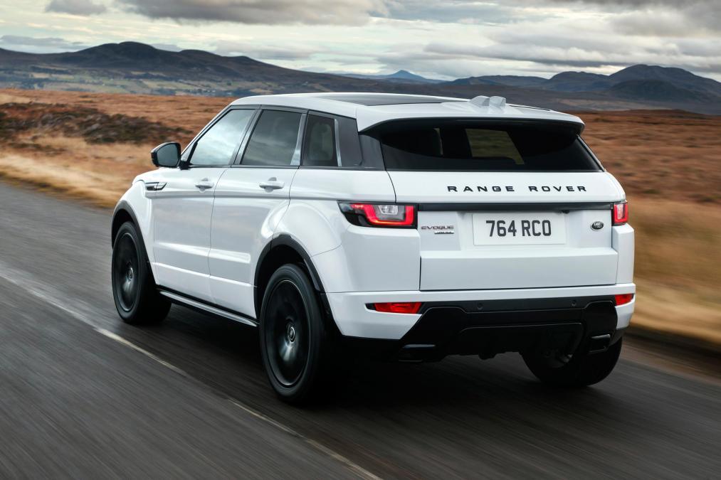 range rover discovery sport сзади