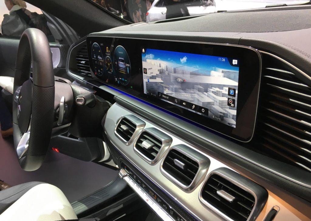 Mercedes-Benz GLE салон