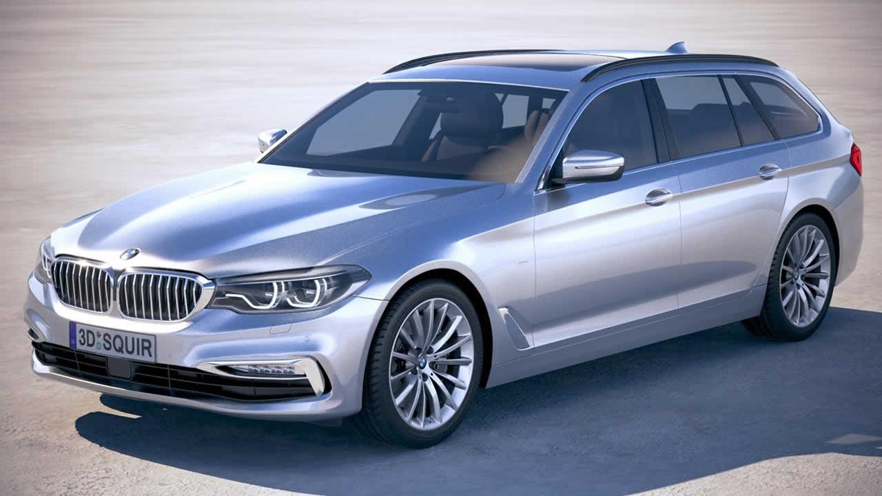 BMW 5-Series Touring 2018-2019