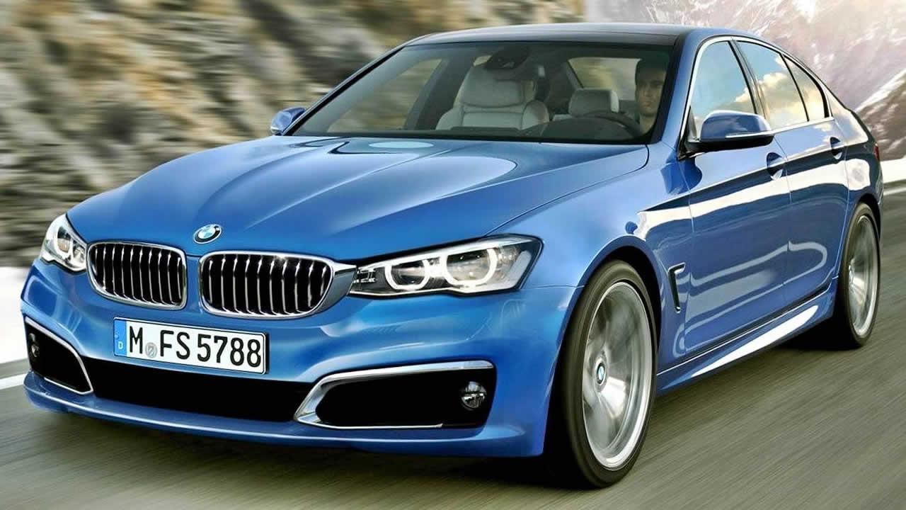 BMW 5 Series - Вид спереди
