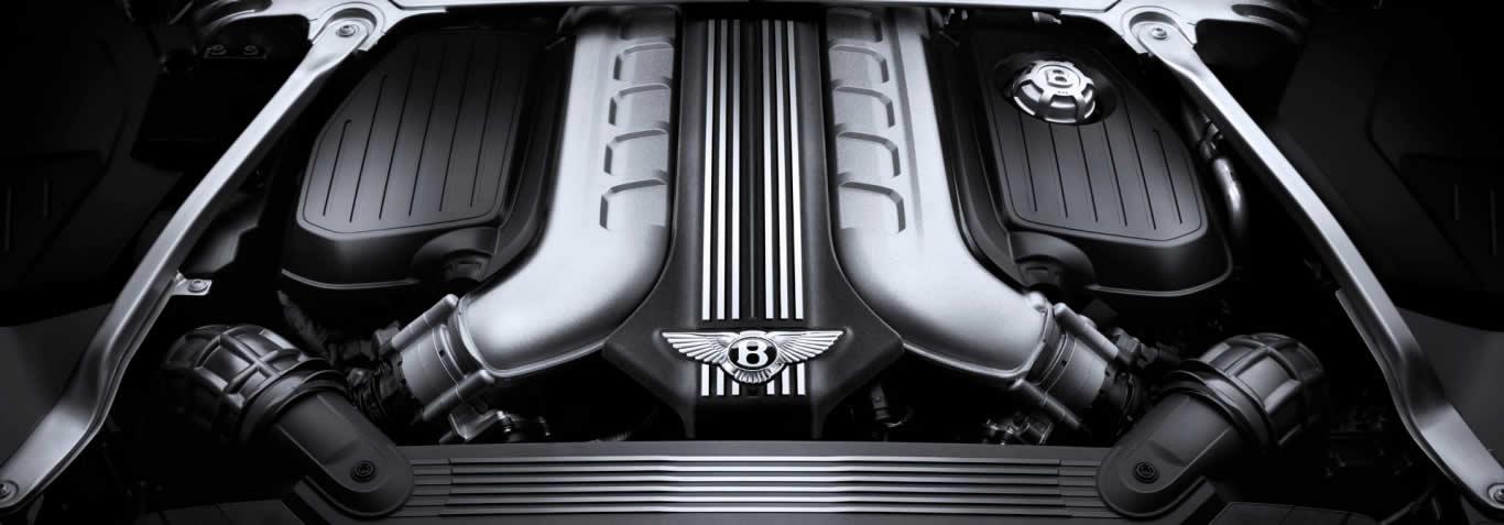 Bentley Continental GT 2017-2020 - Двигатель