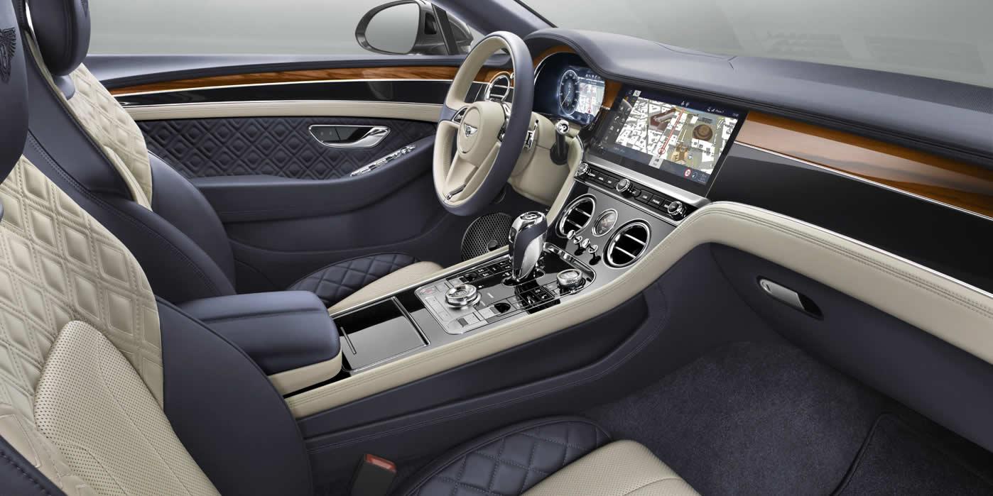 Bentley Continental GT 2017-2020 - Интерьер