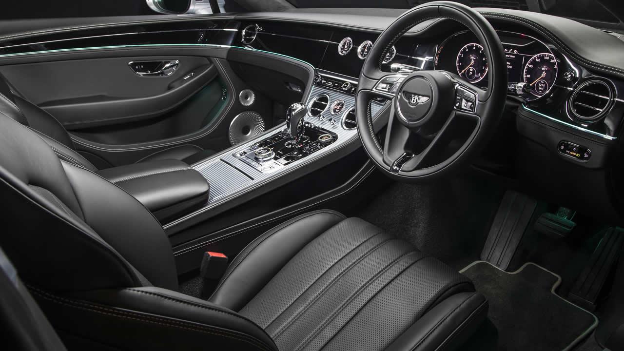 Bentley Continental GT 2017-2020 - Салон