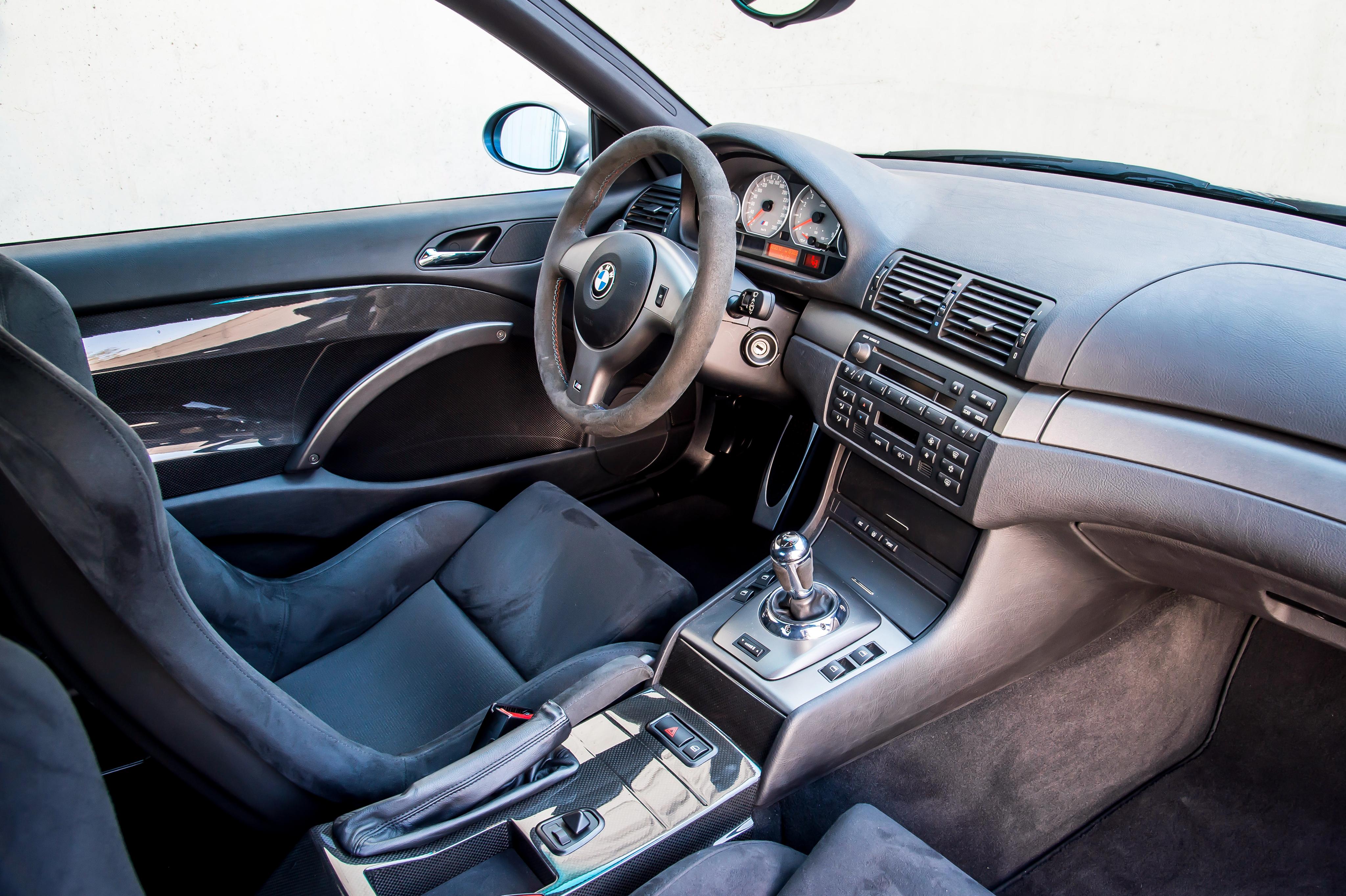 BMW M3 интерьер