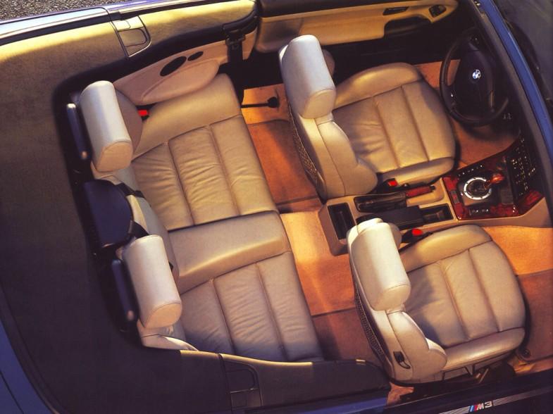 BMW M3 салон