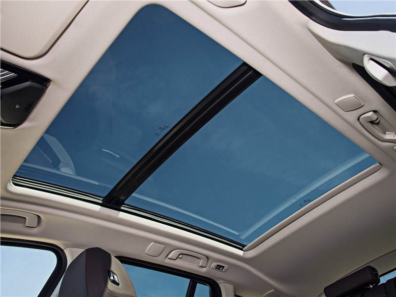BMW X3 панорамная крыша