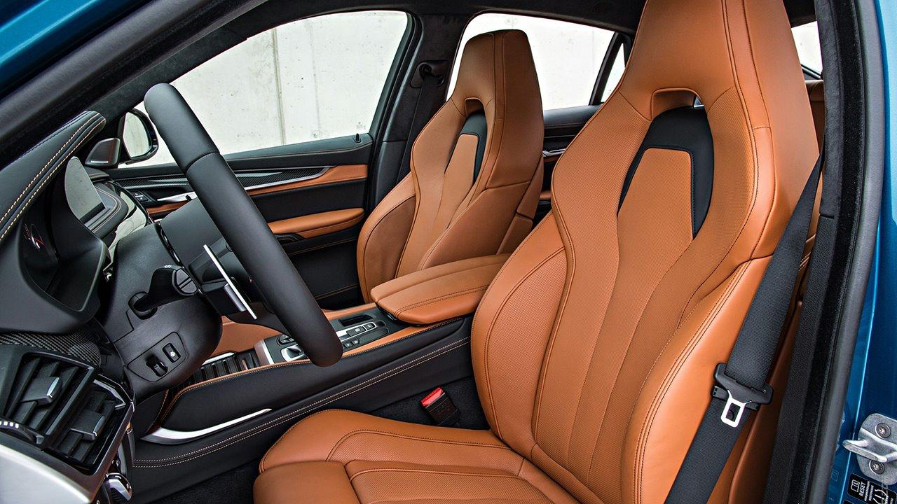 BMW X5M F85 передние кресла