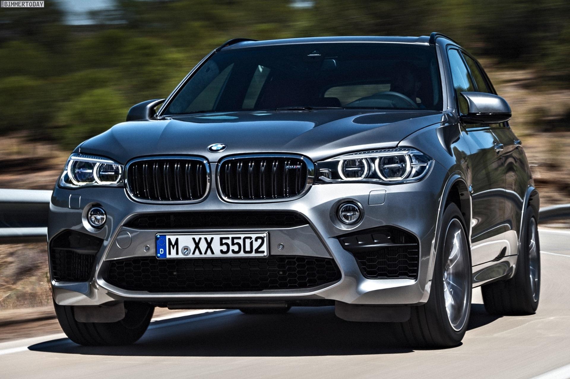 BMW X5M F85 вид спереди