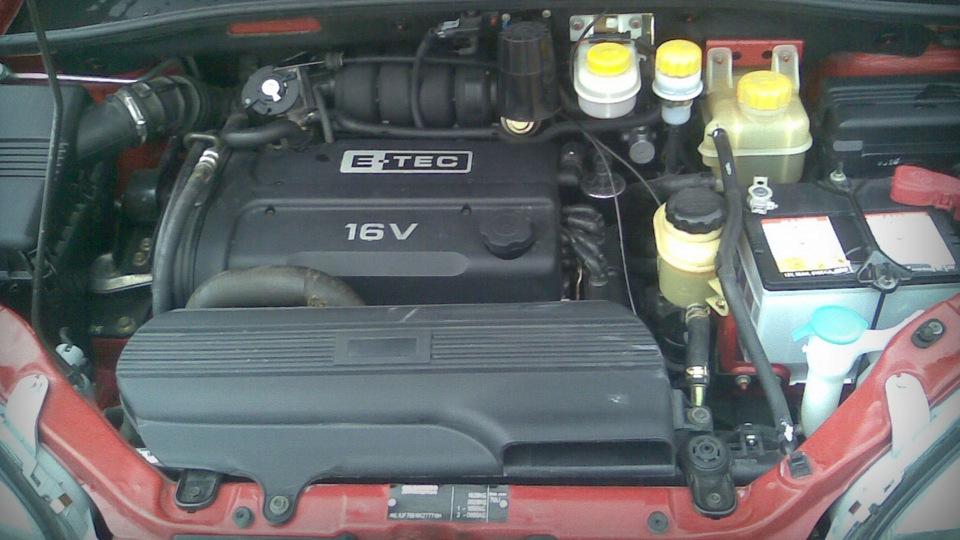 Chevrolet Rezzo двигатель