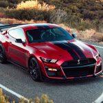 Shelby Mustang красный