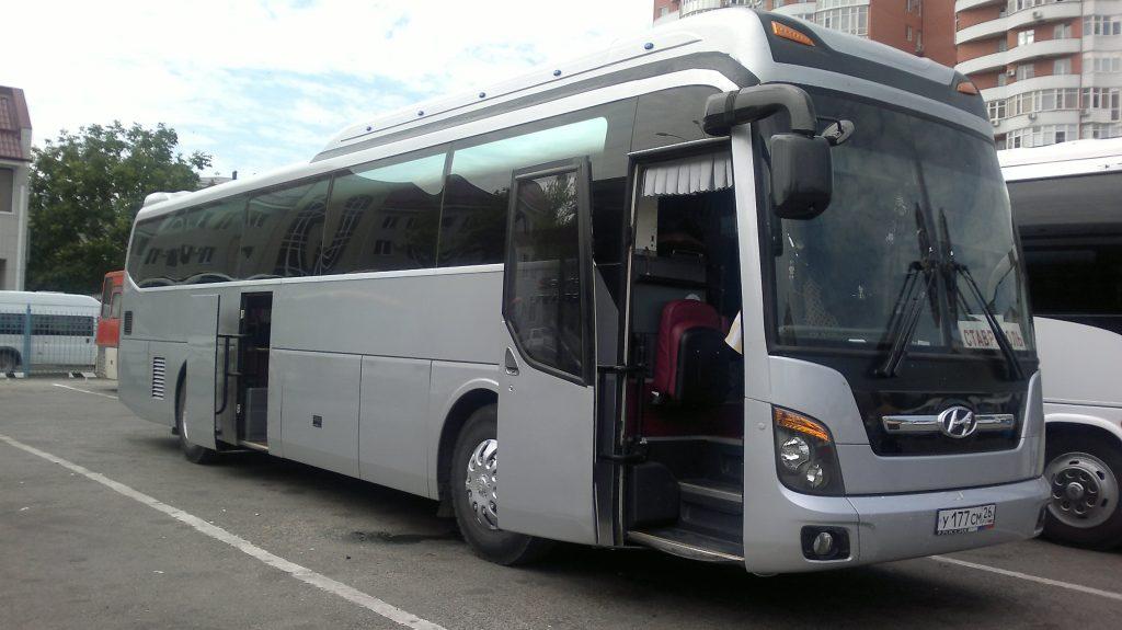 действующий автобус