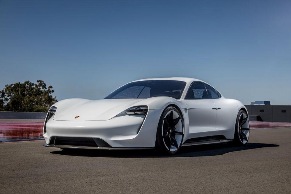 porsche electric car taycan