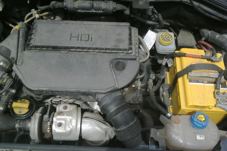 citroen nemo двигатель
