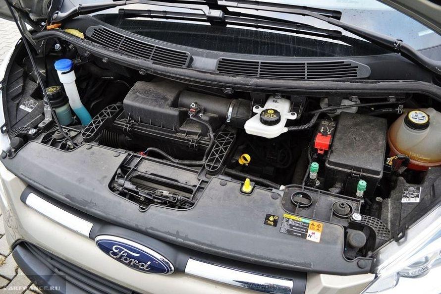 ford tourneo custom двигатель