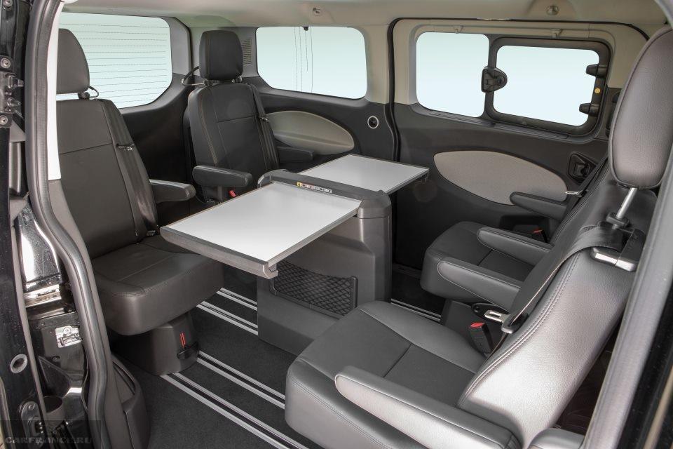 ford tourneo custom interior