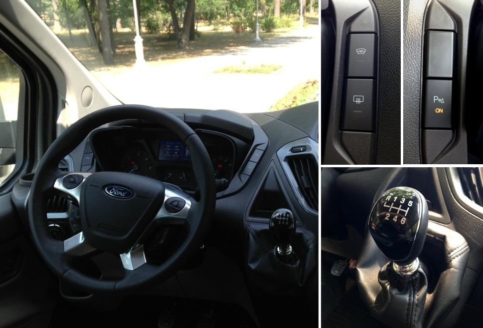 ford tourneo custom коробка передач