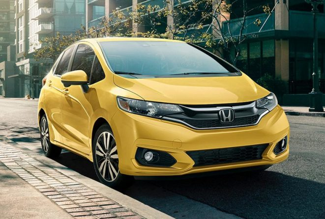2018 honda fit colors