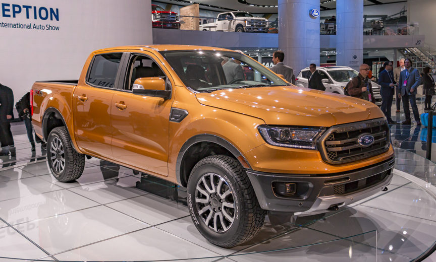 Форд Рэнджер 2019 года - В автосалоне