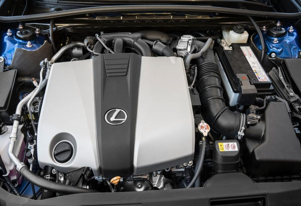Lexus ES 2019 - Двигатель (подкапотное пространство)
