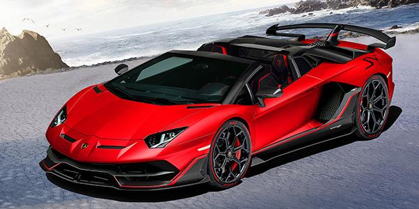 LamborghiniAventador SVJ Roadster