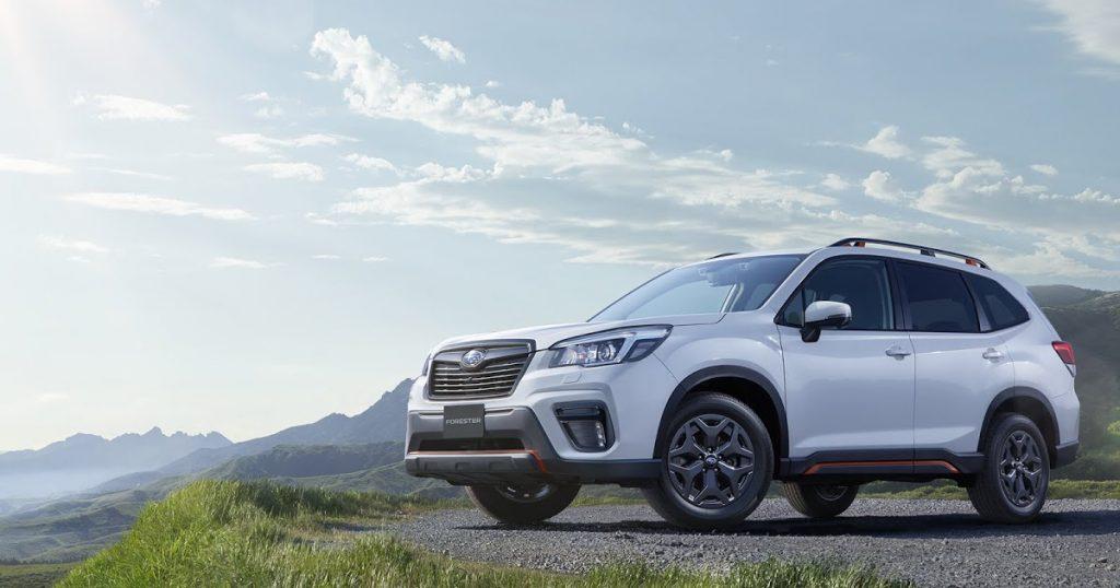 Subaru-Forester-SK сбоку