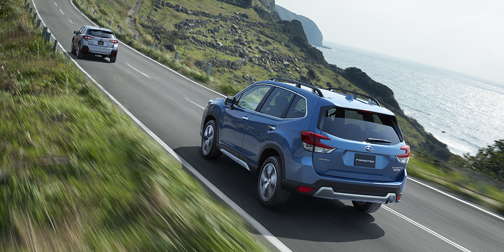 Subaru-Forester-SK сзади